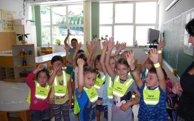 Prvošolčki – 1. šolski dan
