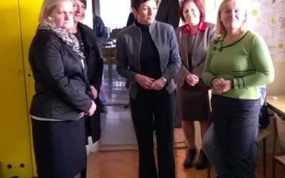 OBISKALA NAS JE MINISTRICA ZA IZOBRAŽEVANJE, ZNANOST IN ŠPORT dr. Maja  Makovec  Brenčič