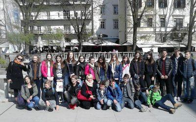 Z ladjico po Ljubljanici in spoznavanje Tesle