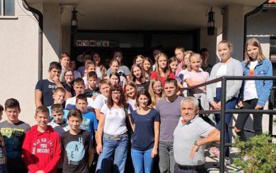 Osmošolci na ekskurziji