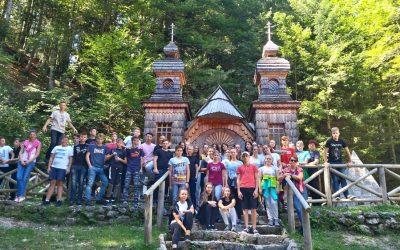Ekskurzija devetošolcev na Gorenjsko