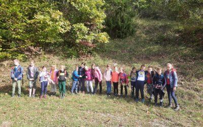 Pohod planinskega krožka OŠ Metlika na Krašnji vrh