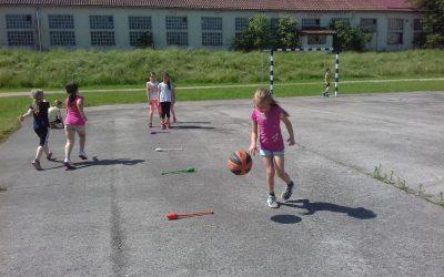 Športni dan 1. razred