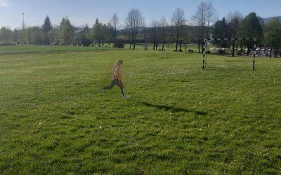 Športni dan drugošolcev malo drugače