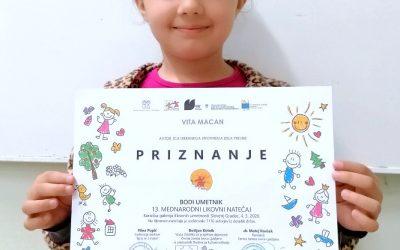 """13. Mednarodni likovni natečaj """"Igraj se z mano"""""""