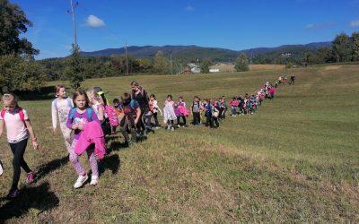 Športni dan – Pohod na Grabrovec, 3. razredi
